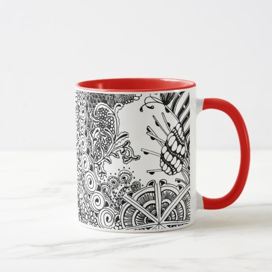 Botanically-inspired Mug