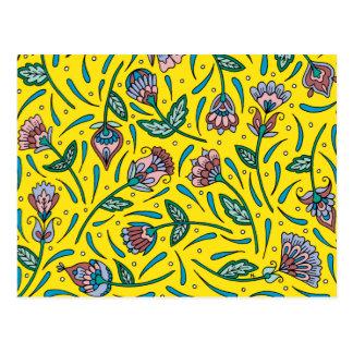 Botanicals Yellow Postcard