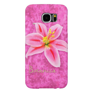 Botanican Lily Samsung Galaxy S6 Cases