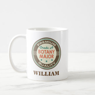 Botany Major Personalized Office Mug Gift
