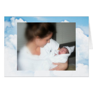 Both his mother's love. greeting card