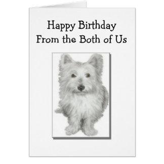 Both of Us - Birthday Card
