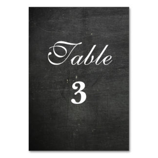 both sided  chalkboard background table card