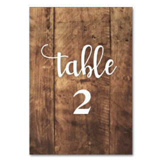 both sided -wood. rustic background table card