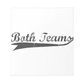 Both Teams Notepad