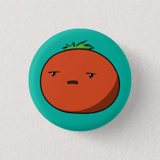 Bothered Tomato 1 Inch Round Button