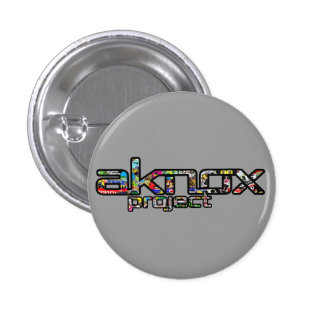 Boton AKNOX Project Stick Bombs 1 Inch Round Button