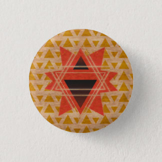 boton de madera 1 inch round button