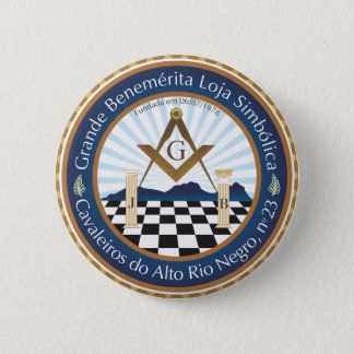 Boton Freemason CARN Amazon 2 Inch Round Button