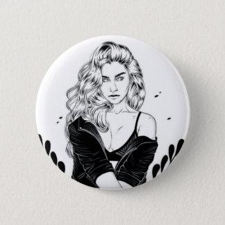 Boton - Lauren Jauregui 2 Inch Round Button