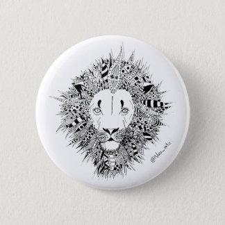 Bóton Lion 2 Inch Round Button
