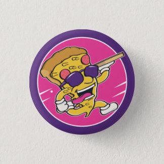 Bóton Pizza Team! 1 Inch Round Button