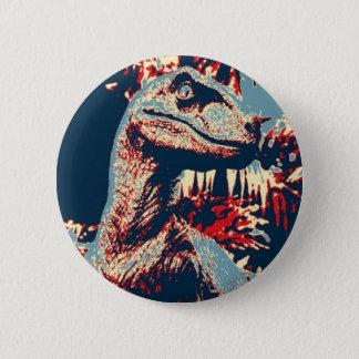 Boton Velociraptor 2 Inch Round Button