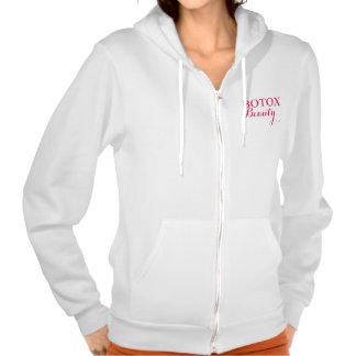 Botox Beauty Hooded Sweatshirts