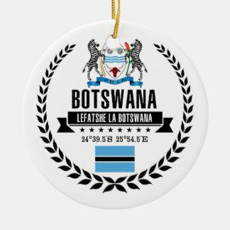 Botswana Ceramic Ornament