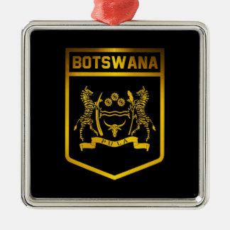 Botswana Emblem Metal Ornament