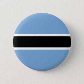 Botswana flag 2 inch round button