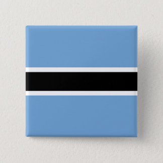 Botswana Flag 2 Inch Square Button