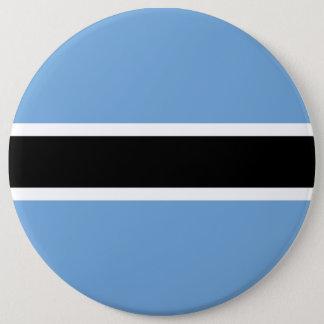 Botswana Flag 6 Inch Round Button
