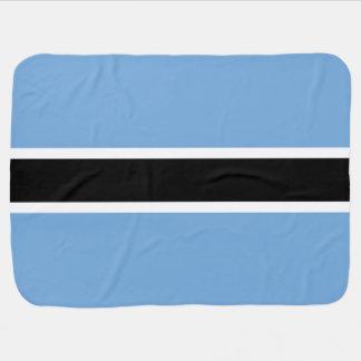Botswana Flag Baby Blanket