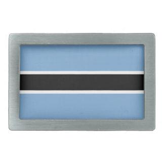 Botswana flag belt buckles