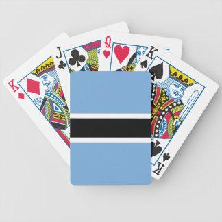 Botswana Flag Bicycle Playing Cards