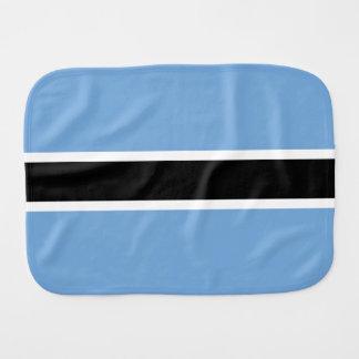 Botswana Flag Burp Cloth