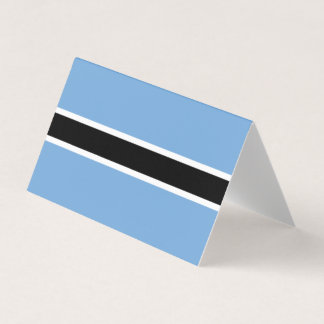 Botswana Flag Card