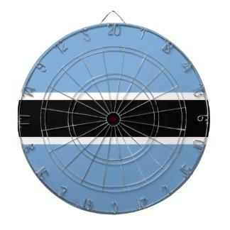 Botswana flag dartboard
