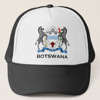 BOTSWANA - flag/emblem/coat of arms/symbol Trucker Hat