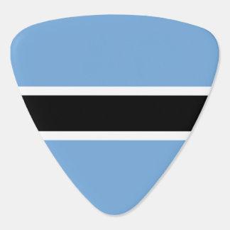 Botswana Flag Guitar Pick