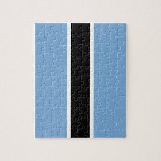 Botswana flag jigsaw puzzle