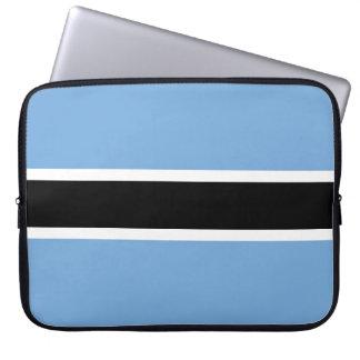 Botswana Flag Laptop Sleeve