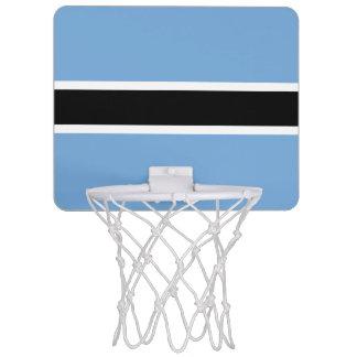 Botswana Flag Mini Basketball Hoop