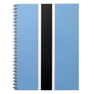 Botswana Flag Notebooks