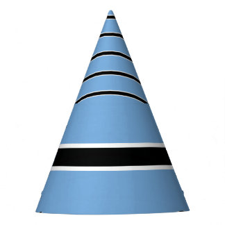 Botswana Flag Party Hat