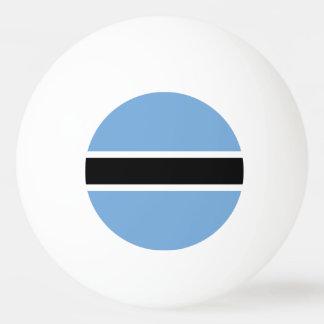 Botswana Flag Ping Pong Ball