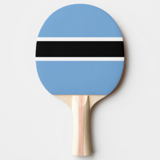 Botswana Flag Ping Pong Paddle