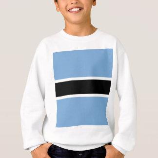 Botswana flag sweatshirt