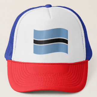 Botswana Flag Trucker Hat