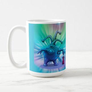 BOTT CUTE ALIEN ROBOT  Classic Mug
