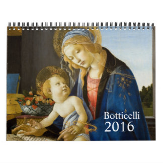 Botticelli 2016 wall calendars