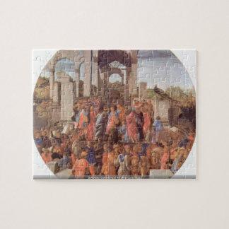 Botticelli - Adoration of the Magi (London) [2 puz Puzzles