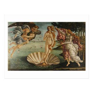Botticelli, Birth of Venus Postcard