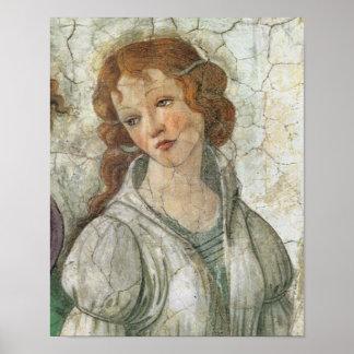 Botticelli Goddess Renaissance Fine Art Poster