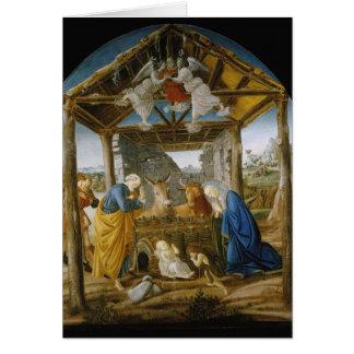 Botticelli Nativity Greeting Card
