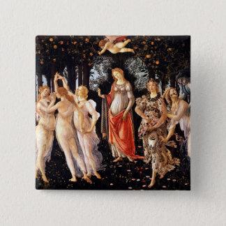 BOTTICELLI -Primavera 1482 2 Inch Square Button