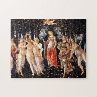 BOTTICELLI -Primavera 1482 Jigsaw Puzzle