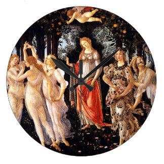 BOTTICELLI -Primavera 1482 Large Clock