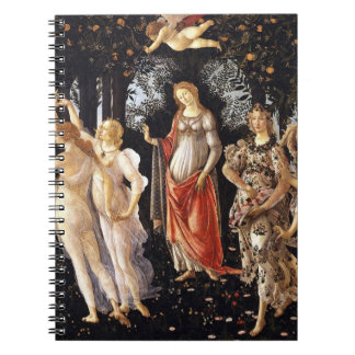 BOTTICELLI -Primavera 1482 Notebook